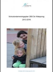 Schoolplan OBS De Walsprong