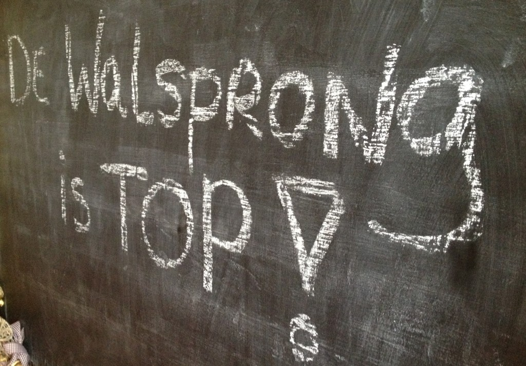 Walsprong is top