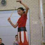 Gladiatorengevecht op school