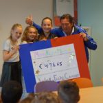 Leerlingen halen € 476,65 op