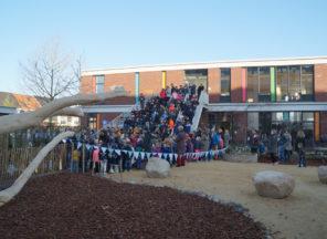 Groen schoolplein geopend op 1 april