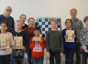 Kinderen De Walsprong leren in 10 weken schaken