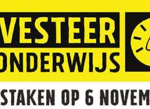 Landelijke staking op 6 november