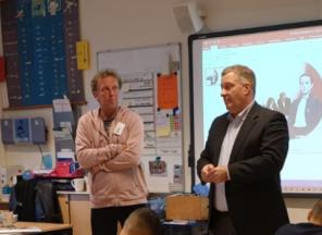 Leerlingen leren alles over journalistiek en meer