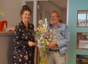 Nieuwe directeur Marieke Spruijt maakt kennis met het team van De Walsprong